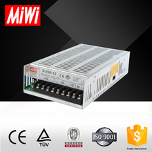 S-250-12 single output ac to dc 115v to 12v dc power supply 120W/145W/150W/201W/250W