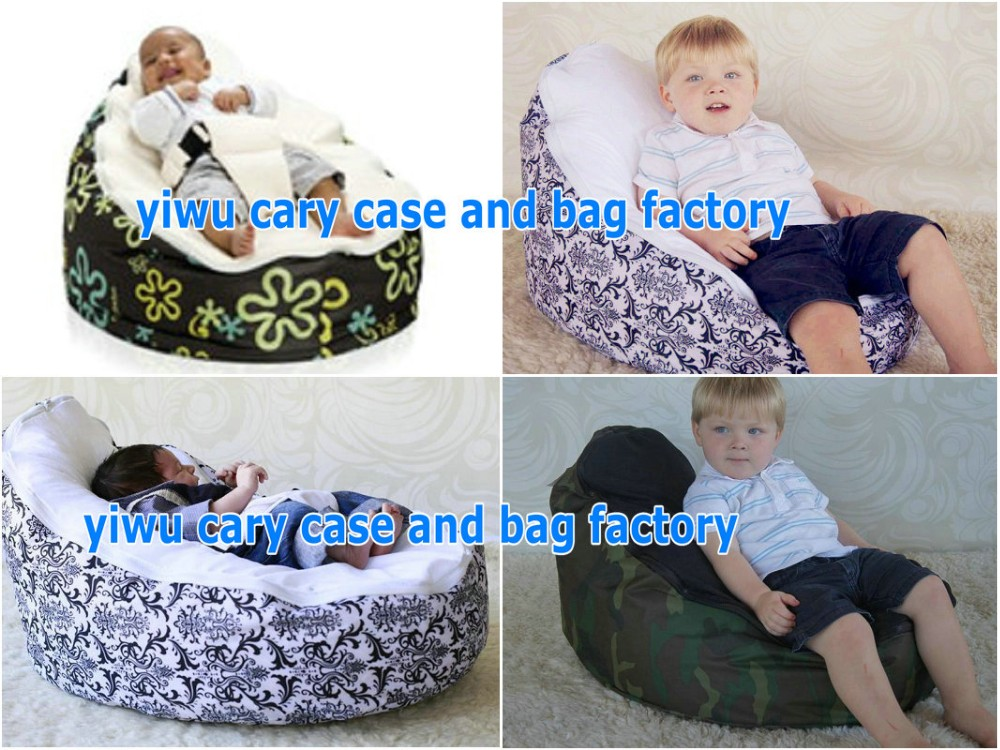 ACCC Complied guality guranteed Baby Bean Bags.The original! blue harness beanbag chair,baby seat with 2 tops