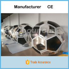 Soccer Shape Inflatable Hamster Ball Made Of TPU Material