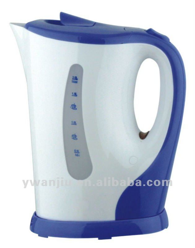 Small order fashion plastic electric kettle