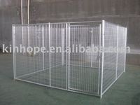 Heavy duty metal dog run kennel