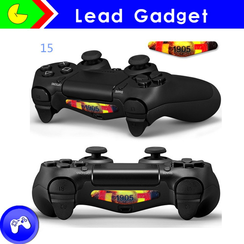 Hot sale!!! Custom Light Bar Decal Led Skin Sticker For Playstation Ps4 Video