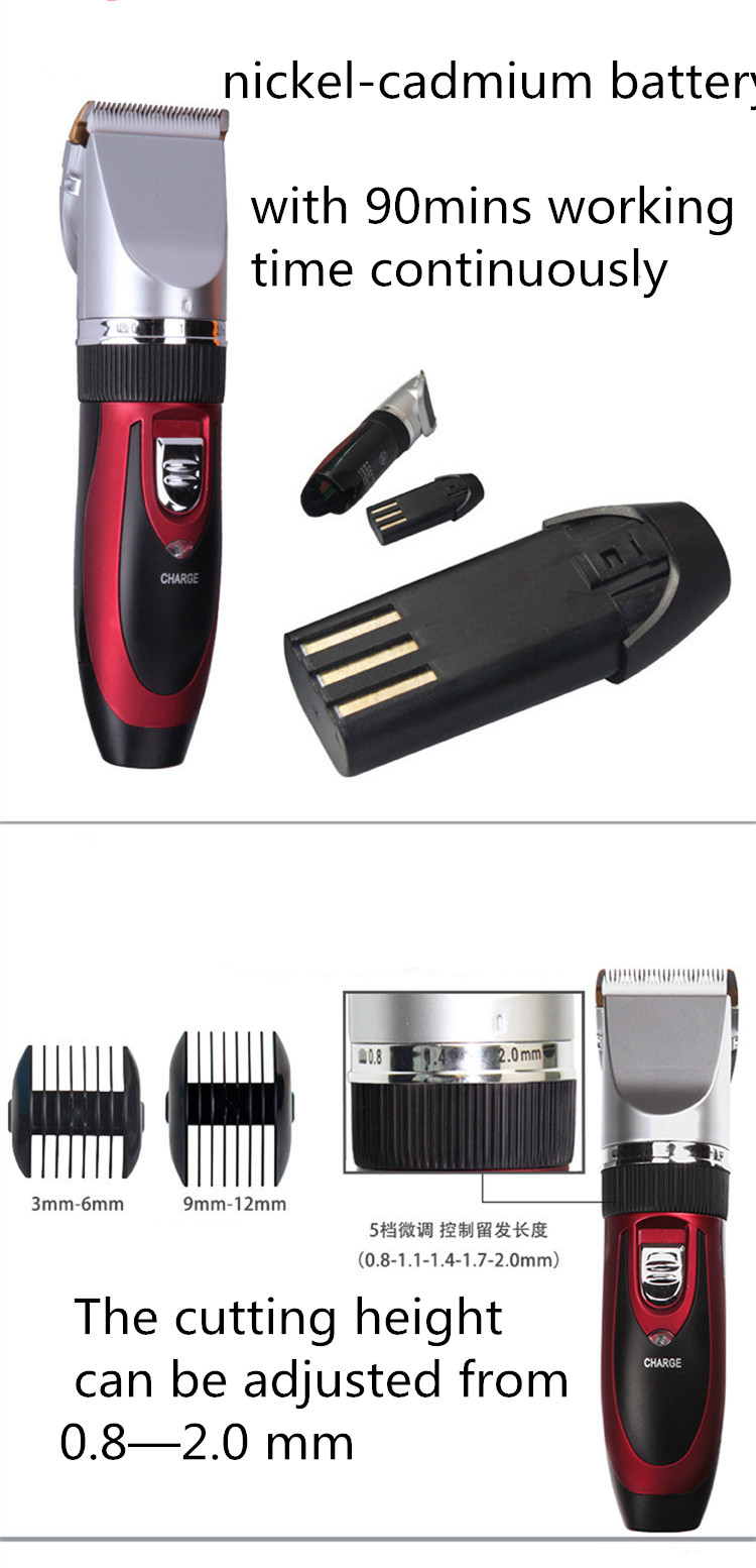 Wholesale best hair clipper cheap barber shop equipment barber suppliers hair cutting clippers