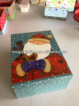 Large Christmas Gift Boxes/Paper Box/Packaging Box