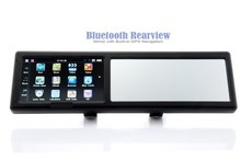 Smart car gps navigation with 6 inch rearview mirror