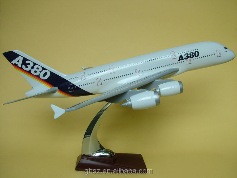 Guohao hot sale Custom resin toy plane, decorative plane