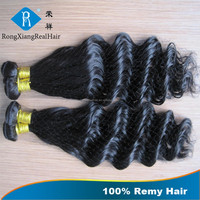 Cheap Wholesale Price Top Quality Deep Wave 100% human hair weft 1kg