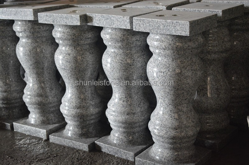 grey granite column
