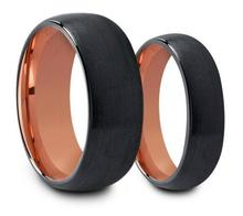 Tungsten carbide bands free jewelry samples new rose gold rings couple rings for valentines day