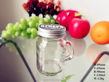 Mason Jar Shot Glasses With Lids 120ml/4OZ(glass factory)
