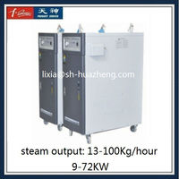 Vertical 30kw generator for steam