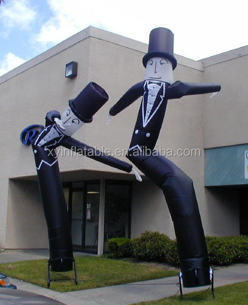 Sky Dancer,Air Puppet inflatable Wavy Guy man air dancer blower