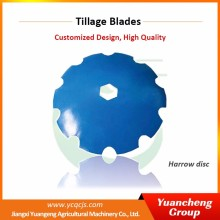 Yuancheng 22 inch agricultural plow disc plough blades for sale