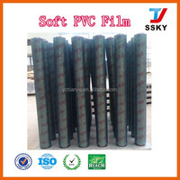 Transaprent clear plastic pvc film for cover proteting packing