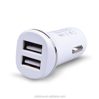 Dual USB 2 Port DC Car Charger 3.1 A Adapter use /Tablet/ GPS/Smart Phones