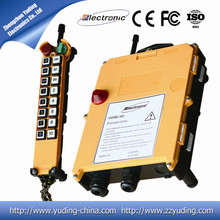 hot sell 433mhz wireless remote control overhead crane F21-16D