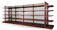 50 pitch euro wooden shelf,wire back panels system