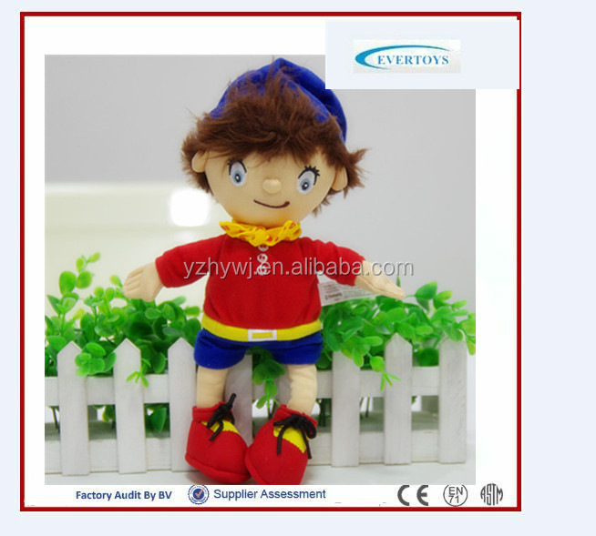 Custom american boy plush doll toy