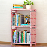 modern cheap and fashion kids fabric wardrobe with book shelf design in book shelf cabinet storage