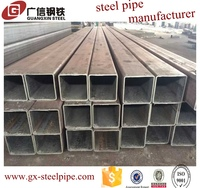 Best Selling Hot Dip Galvanized Square Steel Pipes for Car Parking Shed/Hot dipped galvanized square