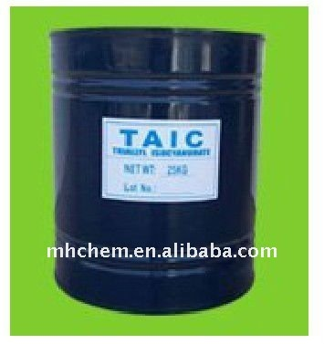 TAIC crosslinking agent for thermoplastic plastics