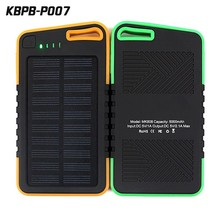 portable solar charger 5000mAh for mobile phone power bank for Iphone