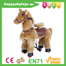 Funny ride toys!!!rocking horse on wheels,toy horses to ride,toy horse ride