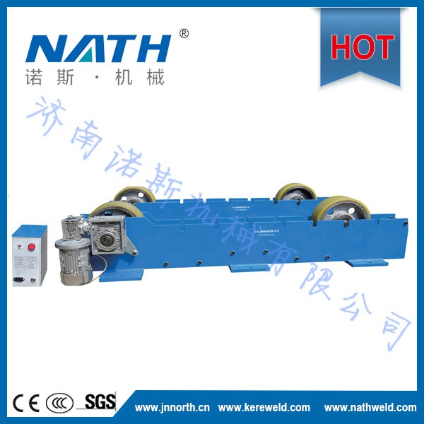 6t turning roller for pipe workpiece welding