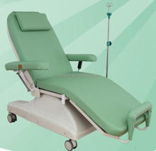 OEM two electric motors comfortable blood collection chair