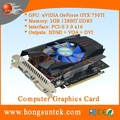 OEM NVIDIA GeForce GTX 750TI 2GB GDDR5 DVI/HDMII/VGA Port PCI-Express 3.0 x16 Graphics Video Card
