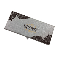 SJ LASHES Natural Looking Own Brand 3D Mink Lashes Manufacturer Custom Eyelash Packaging