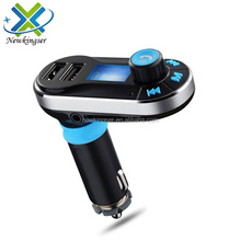 Bluetooth V2.1 FM Transmitter BT66 Car MP3 Player Car Kit Dual USB Charger