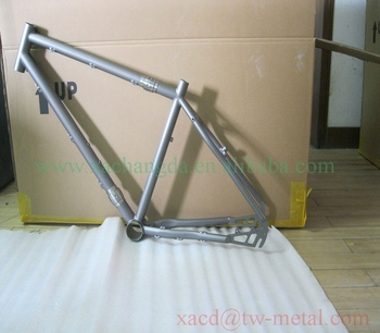 mountain bike frame with coupler titanium mtb bike frame with couplers