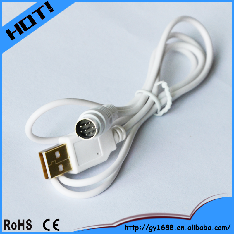 New product usb male to 8 pin mini din cable for Keyboards