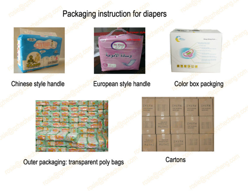 Wholesale Baby Diapers in Bales