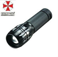 Umbrella 8252 mini LED bike Torch rechargeable change zoom wholesale