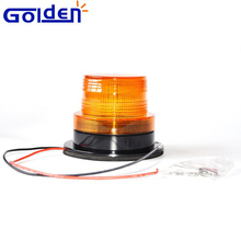 12V 110 volt truck used led strobe warning beacon light with wires control