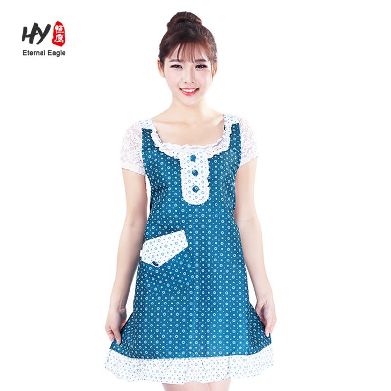low price 3 pockets embroidered waist aprons