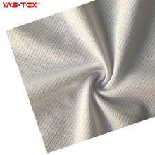 Polyester knitted stretch mesh, small hole, square texture, summer breathable fabric