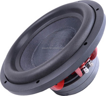 Made in china subwoofer with carbon fiber cone 12inch audio art subwoofer hot-selling Guangzhou car subwoofer speaker