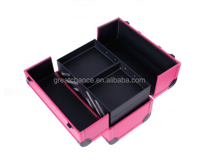 Professional Carrying Cosmetic Case Makeup Beauty Storage Box