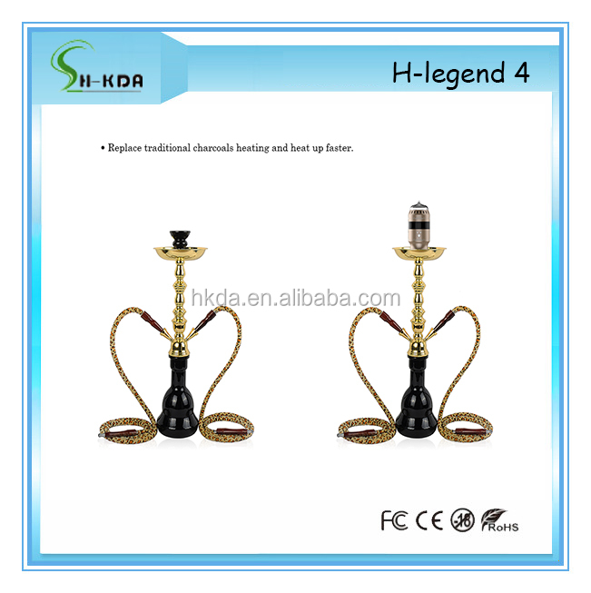 Hot selling H-Legend 4 electric tobacco stainless steel hookah bowl Shisha Flavour Hookah Bowl with remote control