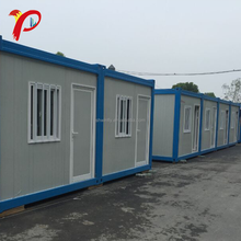 Modular Luxury 3 Story 3 Bedroom Pre-Made Floating Prefabricated Flatpack Container House
