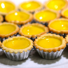 free shipping Egg Tart Cupcake Cake Cookie Mold Lined Mould Tin Baking Tool Silver Tone Egg Tart Cupcake Cake Cookie