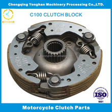 Good quality motorcycle clutch parts clutch shoes chassis for C110