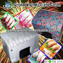CE five nails one time digital nail art printer