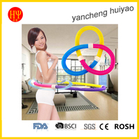 Fitness Flexible Spring Hula Hoop Three Colors Mixed Body Building Waist Slimming Magic Hula Hoopnd