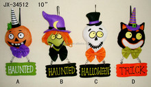Haunted Trick Witches Boo Goaway Rook hanging decorative happy Halloween