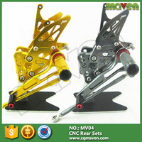 Aluminum CNC Parts Adjuster Footrest Racing Rear Set For Motorcycle MV AGUSTA F3 800