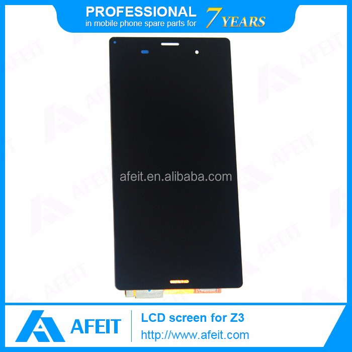 Repair lcd screen for Sony z2 z3, lcd refurbish service, Factory price for sony lcd screen repair